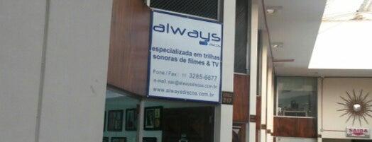 Always Discos is one of São Paulo.