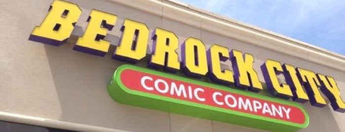 Bedrock City Comic Company is one of Houston Press 10x (100%).