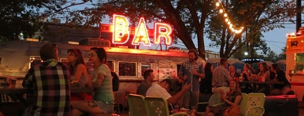 Truck Yard is one of Top Beer Gardens to Celebrate Oktoberfest.