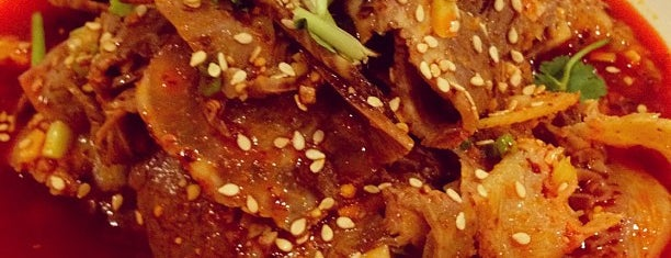 Little Sichuan Cuisine (老熊川菜) is one of Locais curtidos por Claudia.