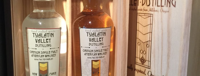 Tualatin Valley Distilling is one of Oregon Distillery Trail.