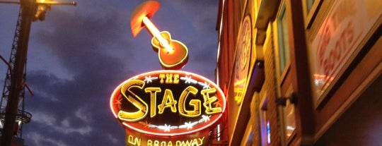 The Stage on Broadway is one of Nashville, TN.