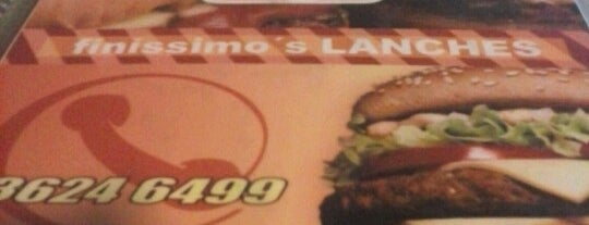 Finissimo's Lanches is one of Locais curtidos por Alan Jefferson.