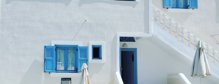 Stelios Place is one of Santorini.
