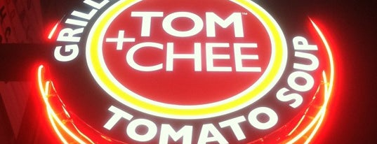 Tom+Chee is one of Posti che sono piaciuti a Tiffany.
