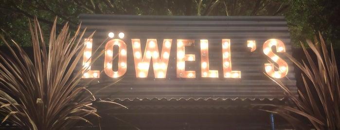 Lowell's Biergarten is one of Bar.