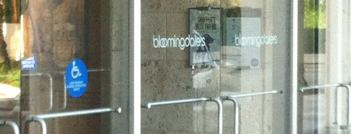 Bloomingdale's is one of Across the country- my favorites.