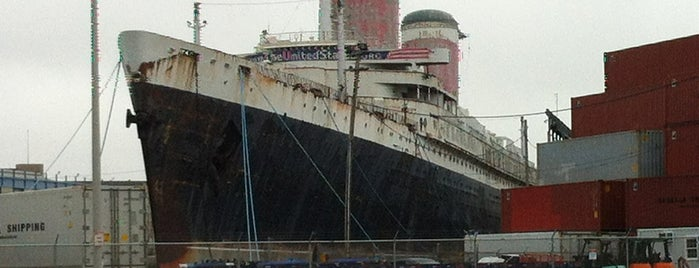 SS United States is one of Ships modern.