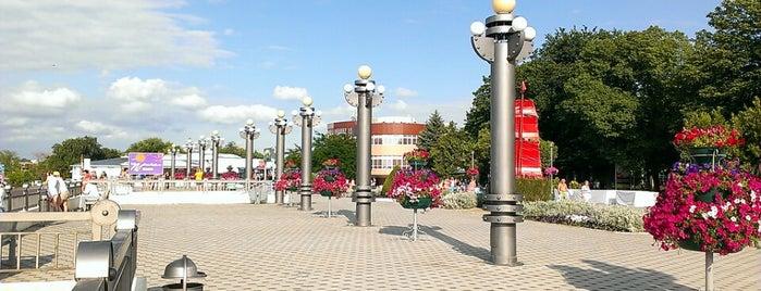 Центральная набережная is one of Анапа-Геленджик.