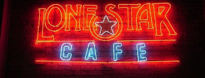 Lone Star Cafe is one of Locais curtidos por Michael.