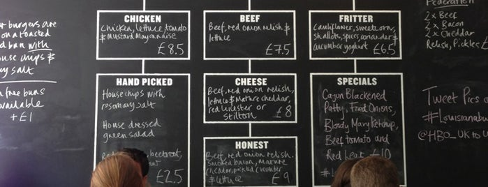 Honest Burgers is one of #londontour.
