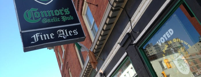 Connors Gaelic Pub is one of GLBT Friendly Centertown Businesses.