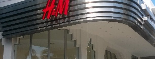 H&M is one of Must to visit.