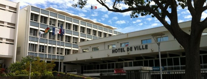 Hôtel de Ville is one of Nouméa, le Paris du Pacifique.