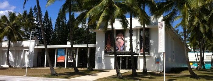 Musée Territorial de Nouvelle-Calédonie is one of Nouméa, le Paris du Pacifique.