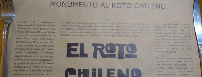 El Roto Chileno is one of ettas 님이 좋아한 장소.