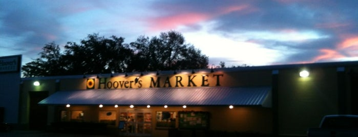 Hoover's Market is one of Would visit.