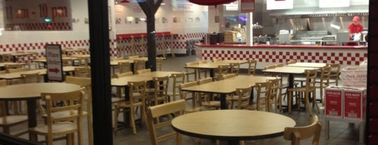Five Guys is one of San Diego.