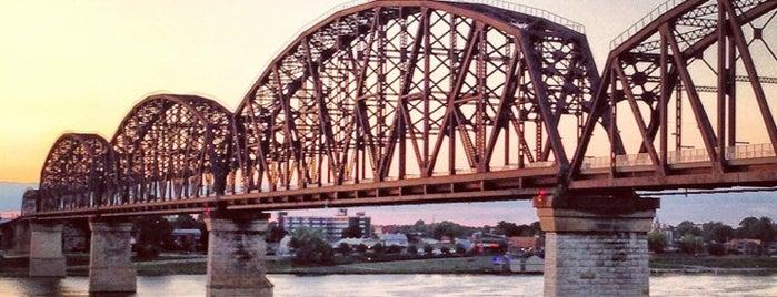 Big Four Bridge is one of Louisville.
