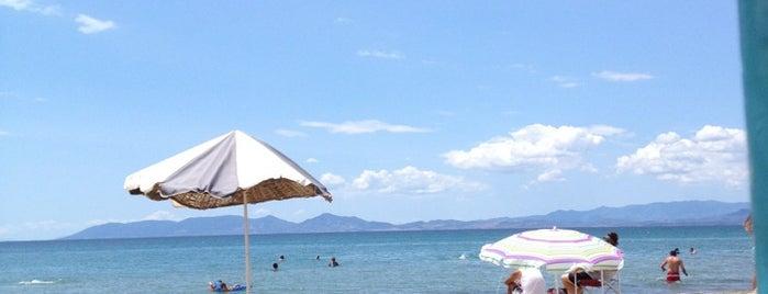 Sarımsaklı Plajı is one of Locais curtidos por Cesim.