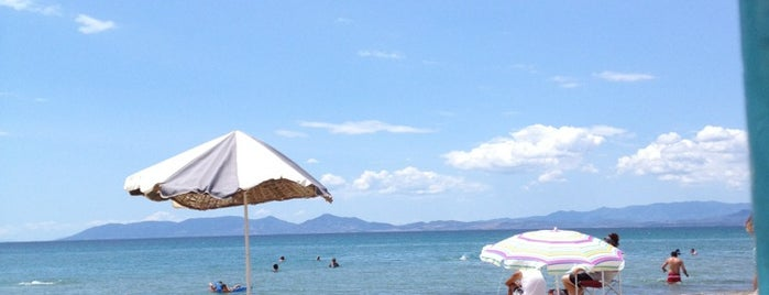 Sarımsaklı Plajı is one of ba$ak 님이 좋아한 장소.
