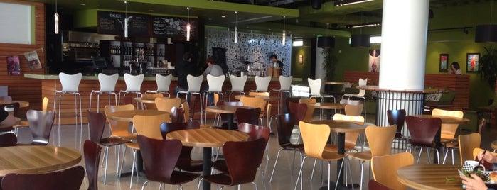 Zanzibar Cafe @The Loft at UCSD is one of Nom O'Clock.