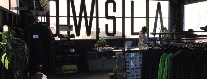 Owsla Goods is one of Brandon // LA – Activities + Shopping.