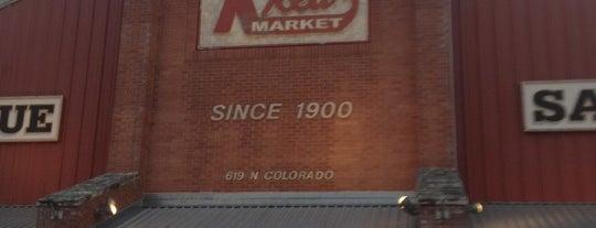 Kreuz Market is one of Texas Monthly's Top 50 BBQ Joints in Texas.