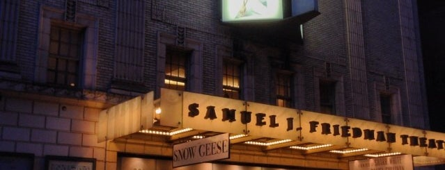 Samuel J. Friedman Theatre is one of Adam Khoo - Theaters - New York, NY.