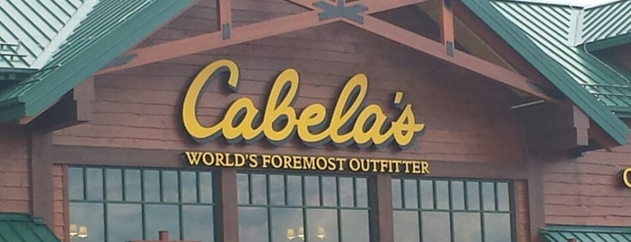 Cabela's is one of G's Liked Places.