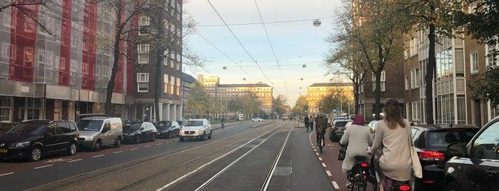 Tramhalte Minervaplein is one of Alle tramhaltes van Amsterdam.