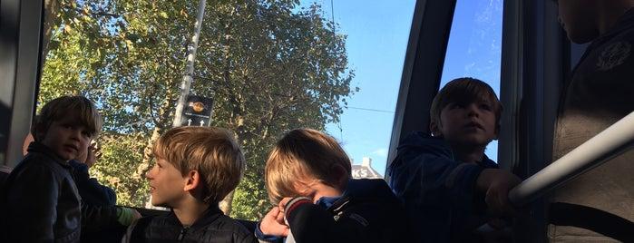 Tramhalte Mr. Visserplein is one of Alle tramhaltes van Amsterdam.