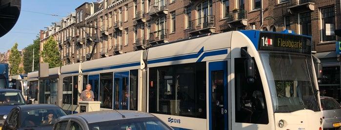 Tramhalte De Clerqstraat is one of Alle tramhaltes van Amsterdam.