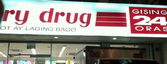 Mercury Drug is one of Tempat yang Disukai Shank.