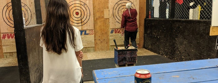 Bad Axe Throwing is one of Denver.