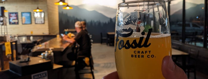 Fossil Craft Beer Company is one of Tappin the Rockies...