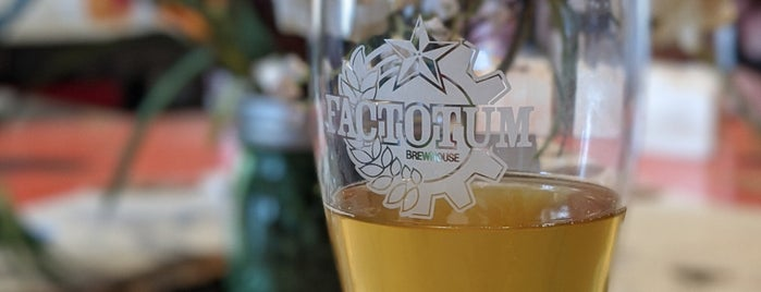 Factotum Brewhouse is one of The West.