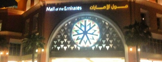Mall of the Emirates is one of Malls in Dubai.