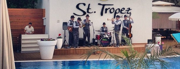 St. Tropez is one of Maksimさんのお気に入りスポット.