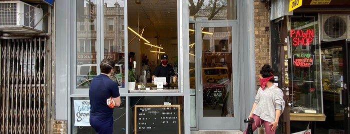 Kinship Coffee Roasters is one of Orte, die thewandering1 gefallen.