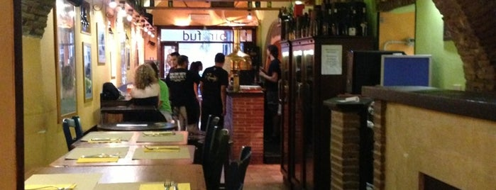 Bir & Fud is one of Roma - a must! = Peter's Fav's.