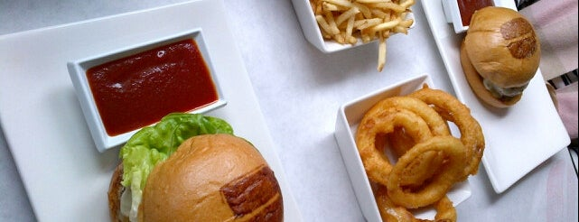 Umami Burger is one of LA eats.