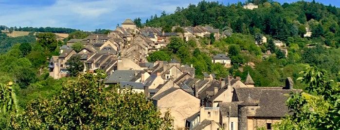Najac is one of Les plus beaux villages de France.