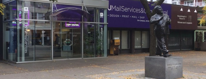 NYU Mail Services is one of Places to Use Campus Cash.