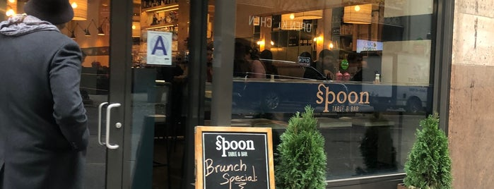 Spoon Table & Bar is one of Café & Bfast.