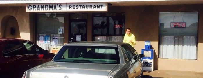 Grandma's Restaurant is one of สถานที่ที่ Amanda ถูกใจ.