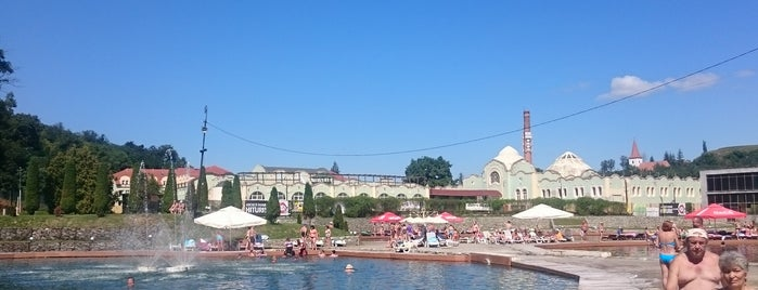 Strand Ocna Sibiului is one of Alvaro : понравившиеся места.