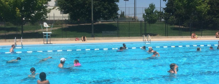 Congress Park Pool is one of Summer favorites.