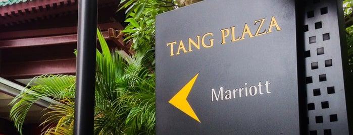 Tang Plaza is one of Locais curtidos por Ian.