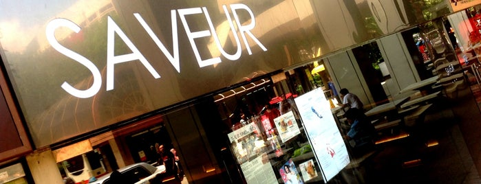 Saveur is one of Singapore: business while travelling.
